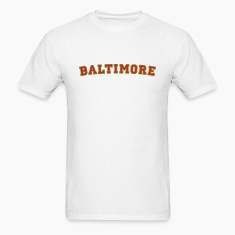 Baltimore College Style T-Shirt