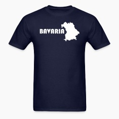 Bavaria map t-shirt