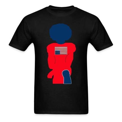 Take a knee for US - Men's T-Shirt