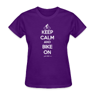 T-Shirts ~ Women's T-Shirt ~ BIKE ON - Women's
