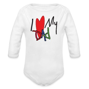 New Dad - Long Sleeve Baby Bodysuit