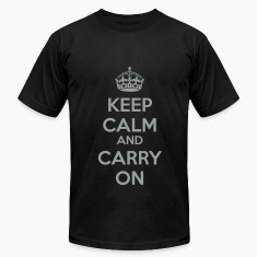 Keep Calm and Carry On Classic 2 Color T-Shirts