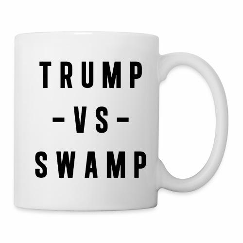 Trump VS Swamp Mug - Coffee/Tea Mug