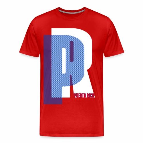 Puerto Rico Bold - Men's Premium T-Shirt