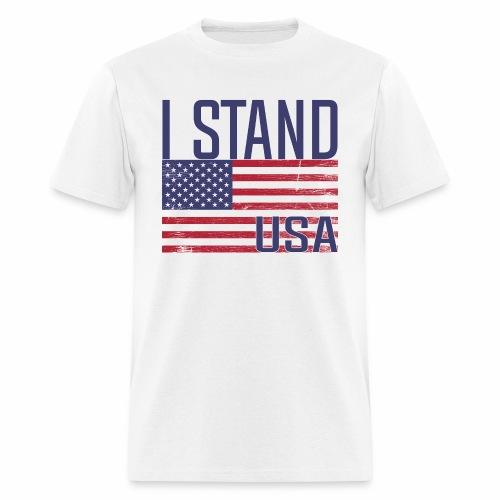 I Stand USA - Men's T-Shirt