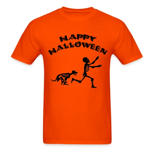 Skeleton Boy Halloween - Men's T-Shirt