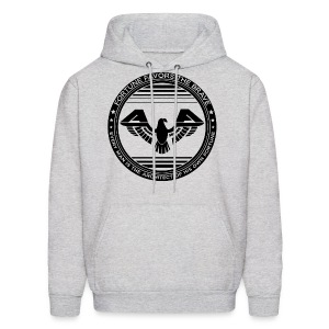 Fortune Favors the Brave Hoody Sweatshirt by AiReal Apparel - Men's Hoodie