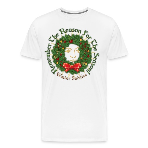 Reason For The Season - Yule T-Shirt - Men's Premium T-Shirt