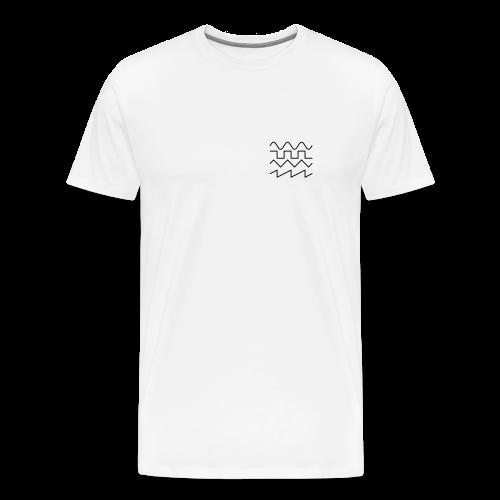 Tee w/ Logo - Men's Premium T-Shirt