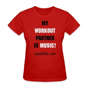MY WORKOUT - Women's T-Shirt