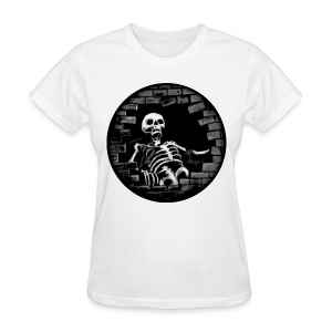 Woman Skelent - Women's T-Shirt