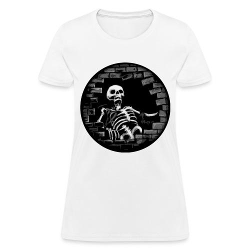 Woman Skelent - Women's T-Shirt