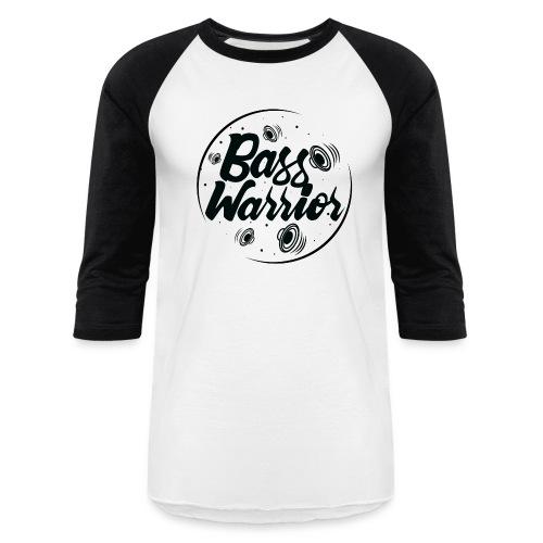 Bass Warrior Baseball T-Shirt Black Logo - Baseball T-Shirt