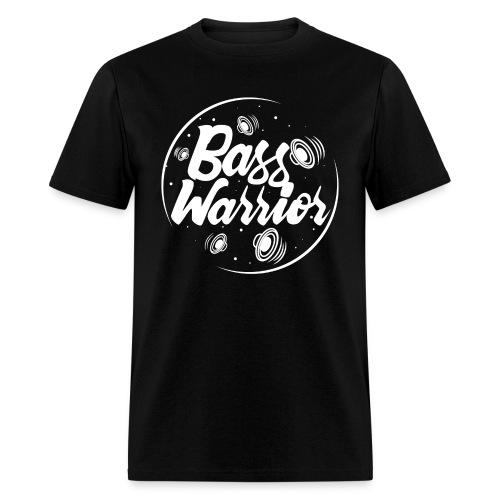 Bass Warrior Men's T-Shirt White Logo - Men's T-Shirt