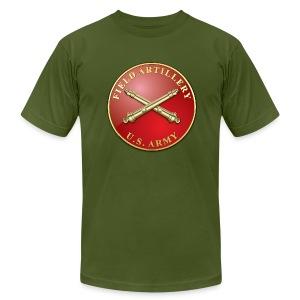 FA Branch Plaque - Men's Fine Jersey T-Shirt