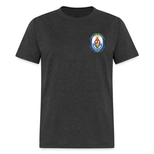USS BUNKER HILL CG-52 Crest Tee - Men's T-Shirt