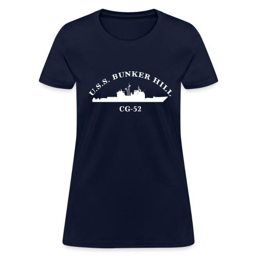 USS BUNKER HILL CG-52 Arc Tee - Women's - Women's T-Shirt