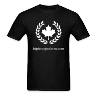 T-Shirts ~ Men's T-Shirt ~ HHJ - The Leaf - black & white