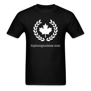 HHJ - The Leaf - black & white - Men's T-Shirt