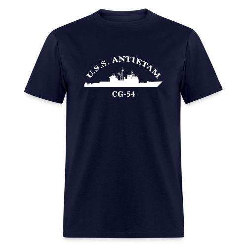 USS ANTIETAM CG-54 ARC TEE - Men's T-Shirt