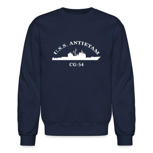 USS ANTIETAM CG-54 ARC SWEATSHIRT - Crewneck Sweatshirt