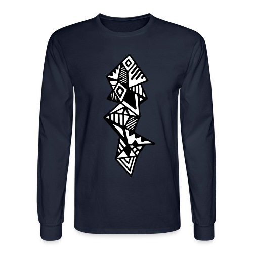 Men's Geometric Long Sleeve - Men's Long Sleeve T-Shirt