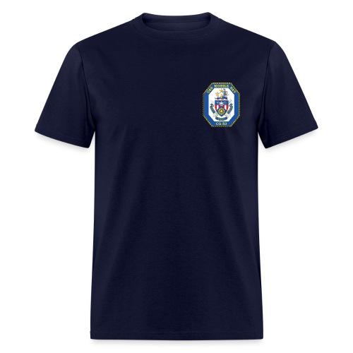USS MOBILE BAY (CG-53) Crest Tee - Men's T-Shirt