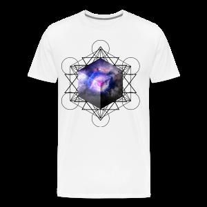 Space Cube - Men's Premium T-Shirt