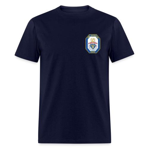 USS ANTIETAM CG-54 CREST TEE - Men's T-Shirt