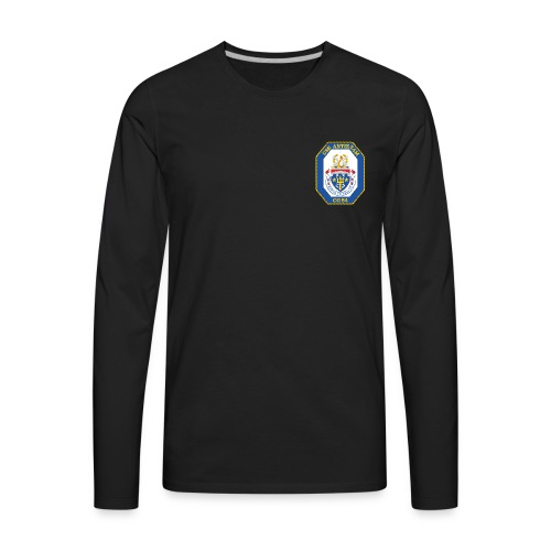 USS ANTIETAM CG-54 Crest Long Sleeve - Men's Premium Long Sleeve T-Shirt