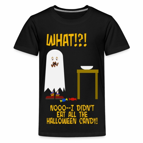 I Ate All The Candy - Kids' Premium T-Shirt