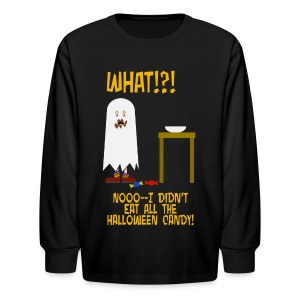 I Ate All The Candy - Kids' Long Sleeve T-Shirt