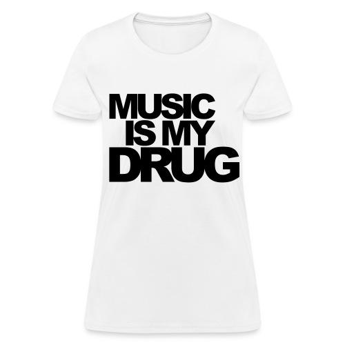 music - Women's T-Shirt