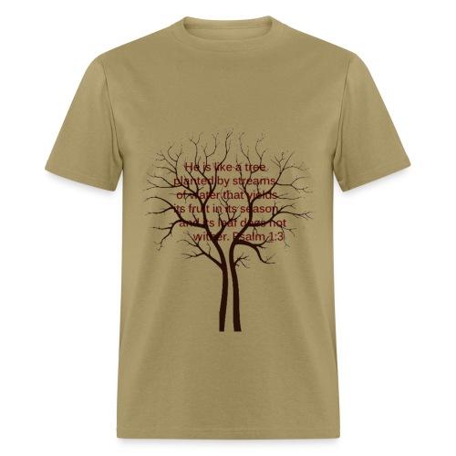 Psalm 1 - Men's T-Shirt