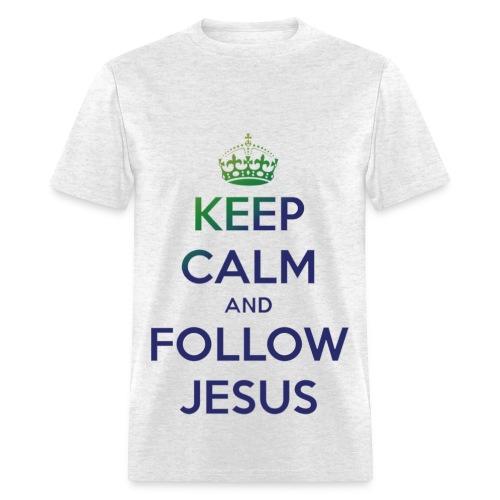 Follow Jesus - Men's T-Shirt