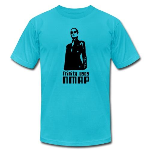 Trinity uses Nmap - Men's Jersey T-Shirt