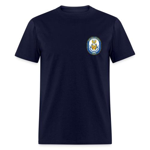 USS SAN JACINTO CG-56 Crest Tee - Men's T-Shirt