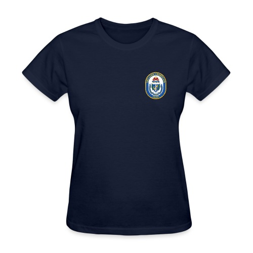 USS LAKE CHAMPLAIN CG-57 Crest Tee - Women's - Women's T-Shirt