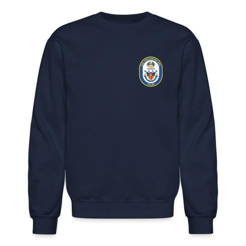 USS PHILIPPINE SEA CG-58 Crest Sweatshirt - Crewneck Sweatshirt