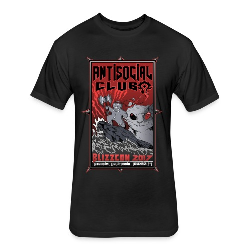 BlizzCon 2017 Guild Shirt - Men's Fitted - Fitted Cotton/Poly T-Shirt by Next Level