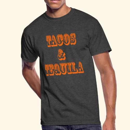 Tacos & Tequila - Men's 50/50 T-Shirt