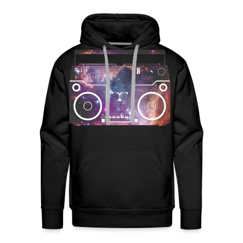 Bass In Your Face - Men's Premium Hoodie