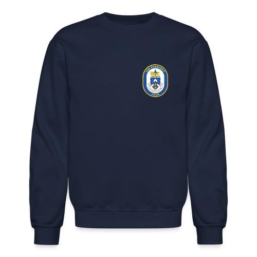 USS NORMANDY CG-60 Crest Sweatshirt - Crewneck Sweatshirt