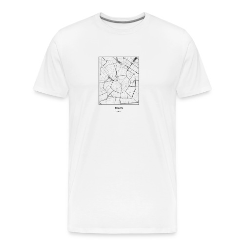 Cities Milan - Men's Premium T-Shirt