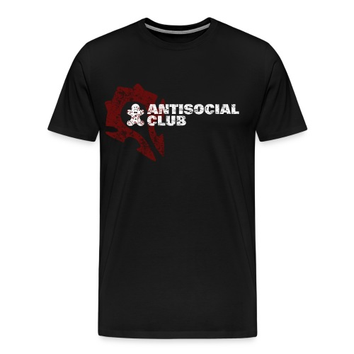 Antisocial Club Guild Tee - Women's - Men's Premium T-Shirt