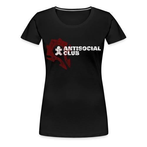 Antisocial Club Guild Tee - Women's - Women's Premium T-Shirt