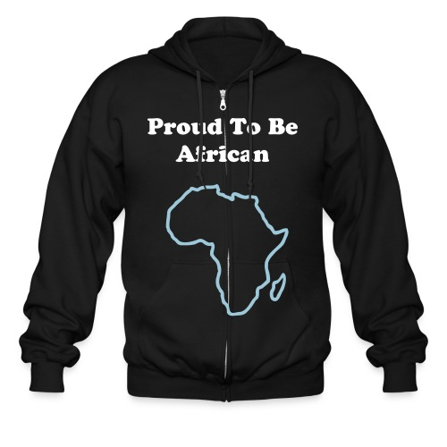 Proud To Be African Sweater - Men's Zip Hoodie