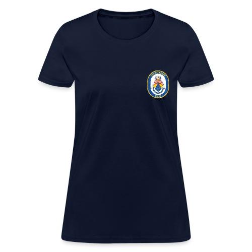 USS COWPENS CG-63 Crest Tee - Women's - Women's T-Shirt