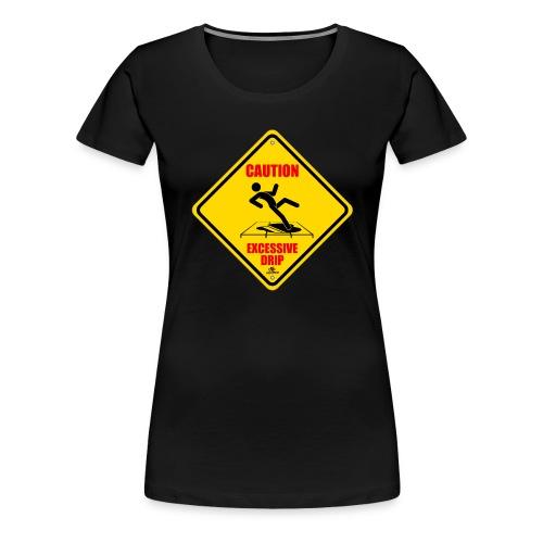 Caution Womens Tee - Women's Premium T-Shirt