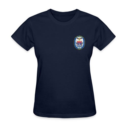 USS ANZIO CG-68 Crest Tee - Women's - Women's T-Shirt
